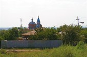 Святоалексеевский храм в станице