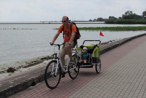 Велодорожка в Ниде
