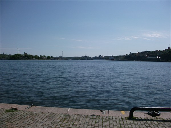 Набережная Стокгольма