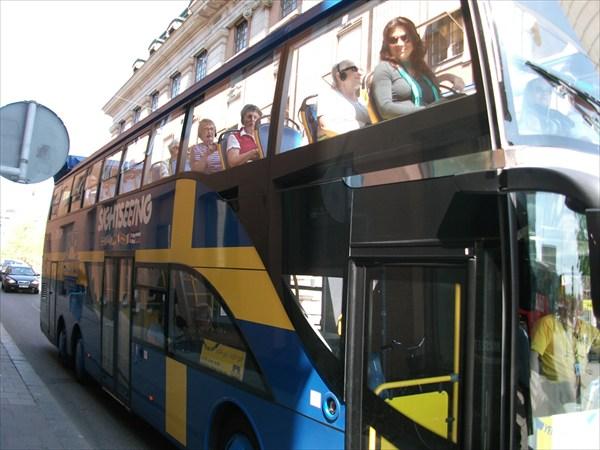 Туристические автобусы Стокгольма