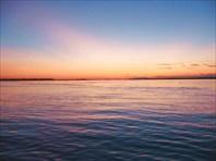 Закаты над Амуром.