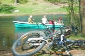 Переправа через пролив Михалёвского озера