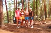 Фото нас на Еловом озере