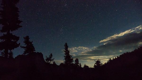 Ночь на озере Художников