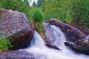 Водопадик на пути к озеру Горных Духов