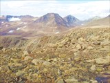 Вид не ледник Топографов