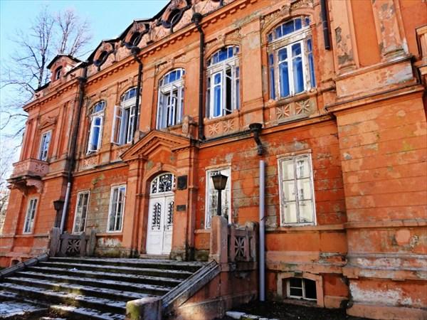 Бывшее Российское посольство.