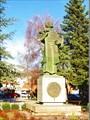 Памятник основателю города Ивану Черноевичу.