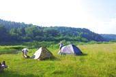 Стоянка наша в две палатки