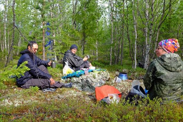 219_Завтрак в Лагере № 6