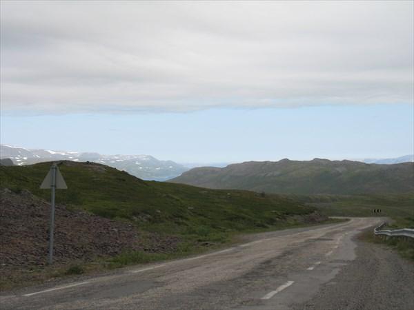 На спуске к Танафьорду