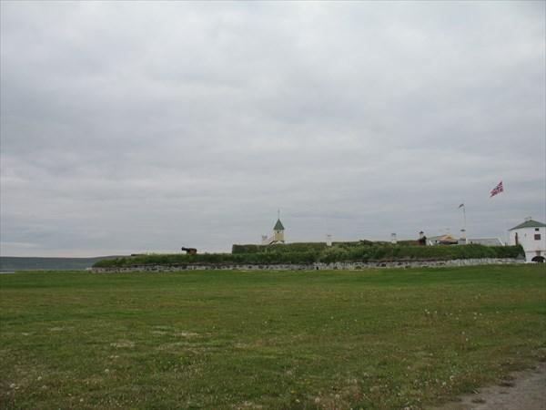 Старая крепость в г. Вордё