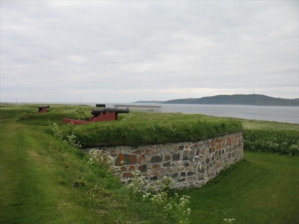 На стенах крепости