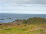 На мысу в заливе Конгсфьорд (Kongsfjord)