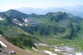 Вид с перевала на загеданские озера