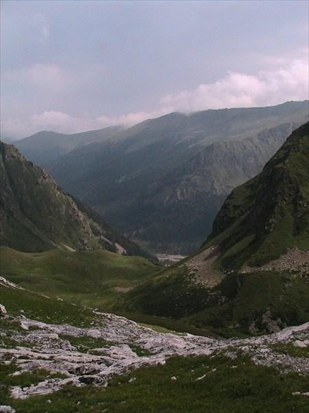 горный коридор