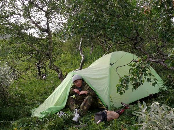 Ночёвка под перевалом Дятлова