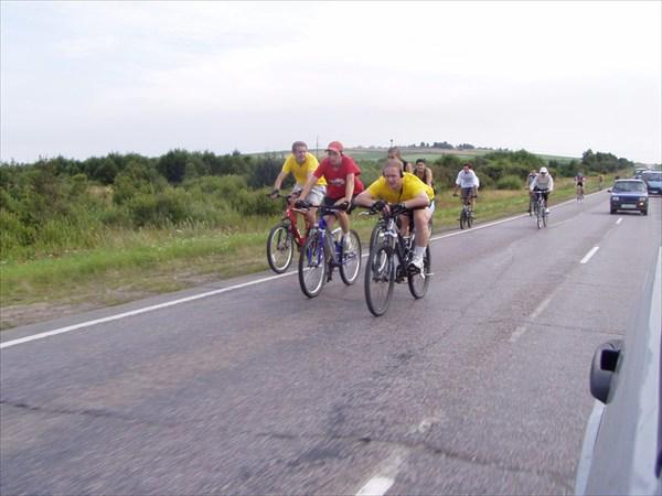 Участники на маршруте