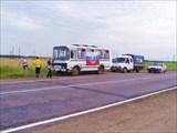 На трассе А- 114 Вологда - Новая ладога