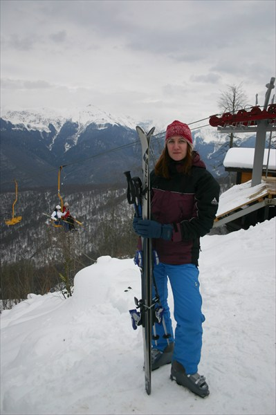 Красная Поляна и Абхазия. Зима 2006