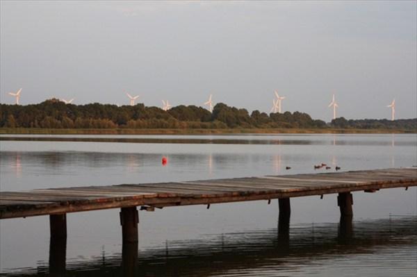 Разлив реки Одра (р.Дивна - один из рукавов Одры)