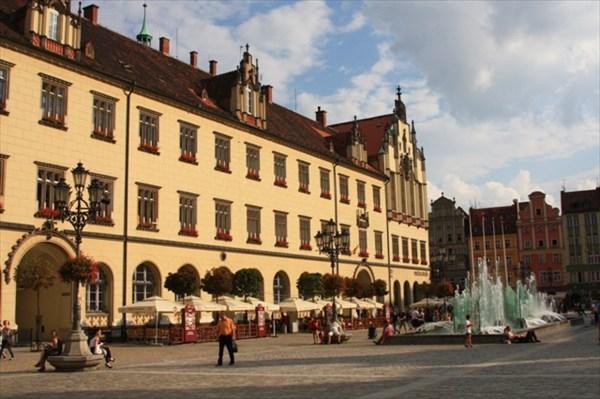Рыночная площадь во Вроцлаве