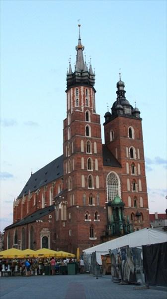Мариацкий собор в Кракове