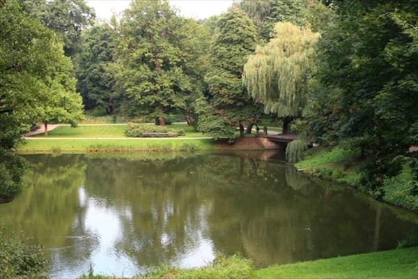 Парк Лазенки. Варшава