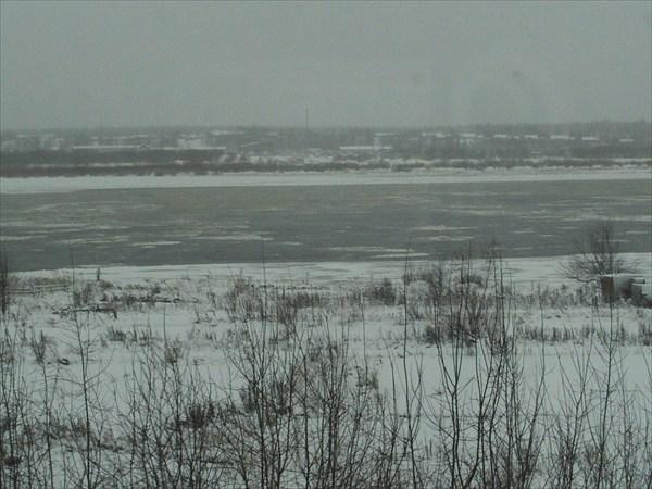 Шуга на реке Печора