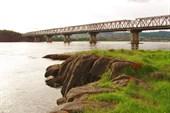 53 Мост через Ангару, начало похода
