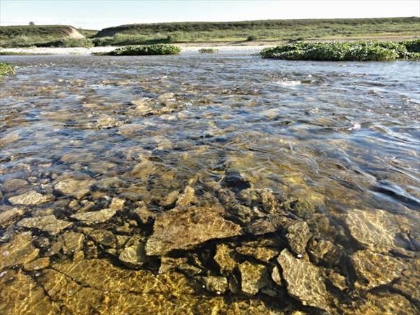 Прозрачная вода Белой
