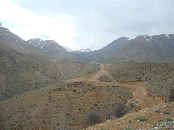 Дорога на перевал