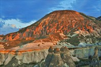 Долина монахов на закате