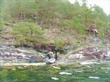 Выход на каменную ванну только в прилив