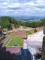 `Панорама` с самой высокой башни в замке