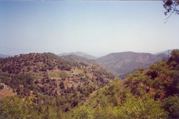 Вид с местного Олимпа
