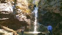 Водопад Сага на р. Мрас-су