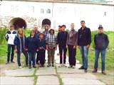 На экскурсии в Соловецком кремле