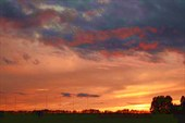 Фото 12. Закаты 2-го дня на фоне железных палок