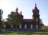 Фото 13. Турнаевская колхозная церковь им. 50-летия Октября :)