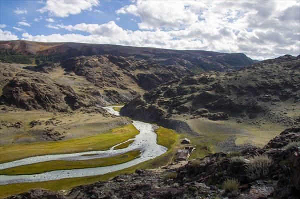 Забельтирье. река Чаган