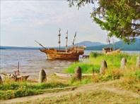 Озеро Зюраткуль.Китовая пристань.