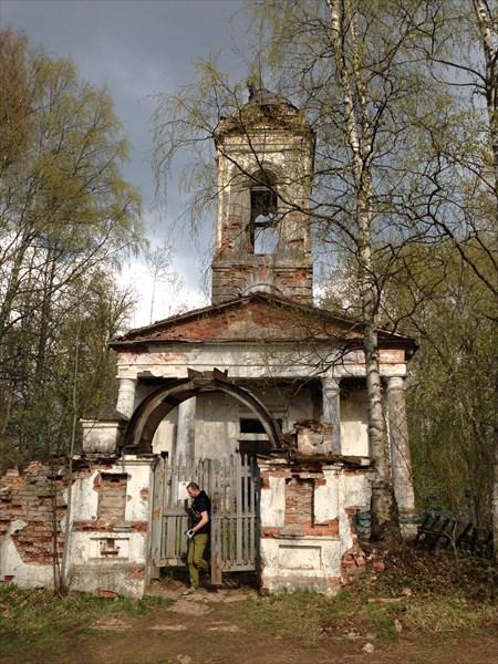 Церковь в Загубье