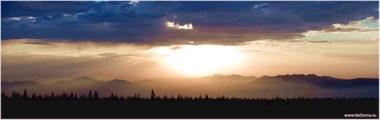 Вид с хребта Зигальга на рассвете
