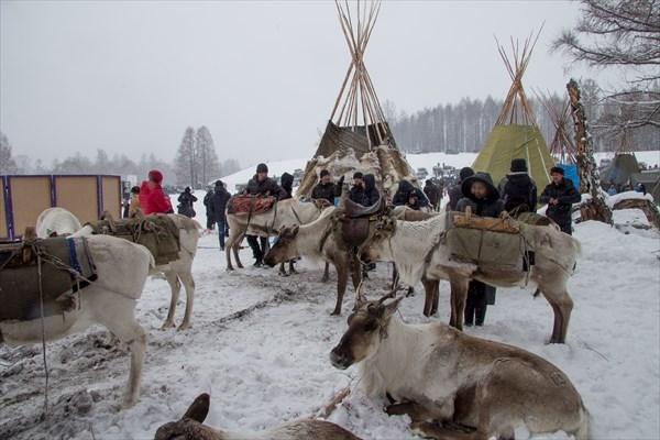 Фестиваль охотников и оленеводов. Тоора-Хем.