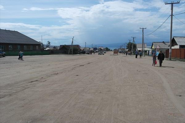 Улицы в Хужире