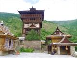 Верхний храм и башня в Камру