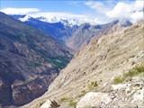 Путь в Ташиганг приводит обратно на склоны долины Сатледжа