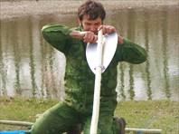 Монтируем весла