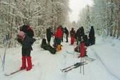 Одеваем лыжи